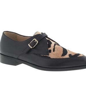 J Crew Collection Two To e Calf Hair Loafers NEW
